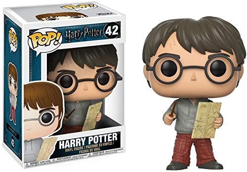 Funko - POP! Vinilo Coleccion Harry Potter - Figura Harry con el mapa del merodeador (14936)