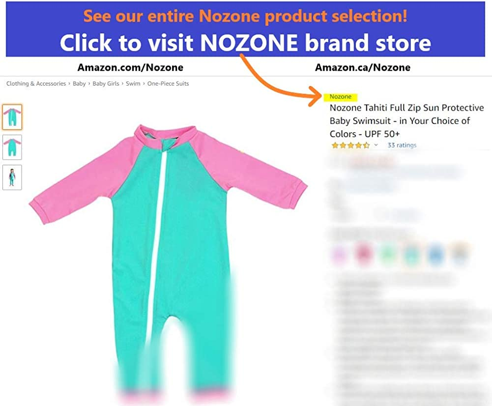 UPF 50 Nozone Baby Wrap Sun Protective Cover-Up in Choice of Colors