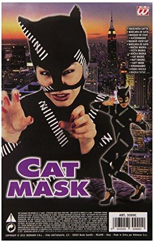 widmann Cat Mask Feline & Cat Masks Eyemasks & Disguises for Masquerade Fancy Dress Costume Accessory