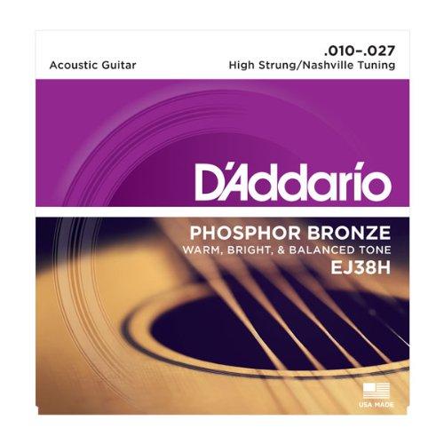 D'Addario EJ38Hx5 , Acoustic Guitar Strings, Phos/Brnz Rnd W
