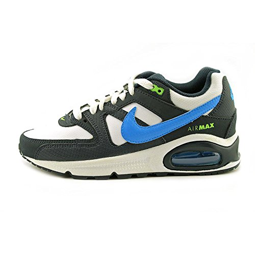Nike Air Max Command (Gs) 407759 Jungen Laufschuhe Negro / Blanco / Azul