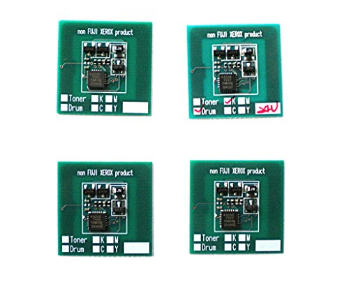 13r602 Drum (INKTONERCHIP - 4pk- C,M,Y,K Drum Image Unit Reset Chip
