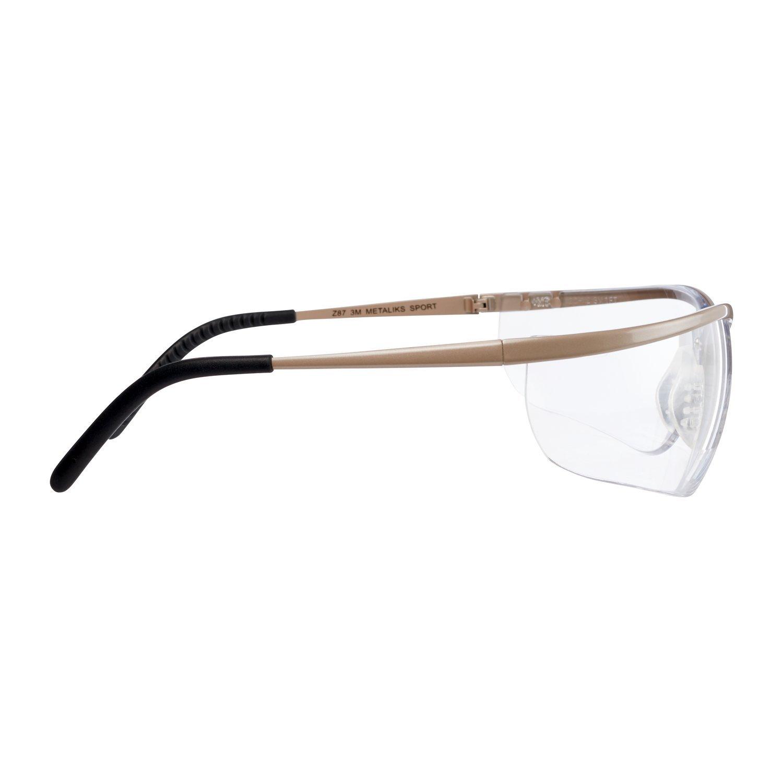 montatura in metallo 71460-00002M 3M/™ Metaliks/™Sport Occhiali di protezione AF//AS lente grigia