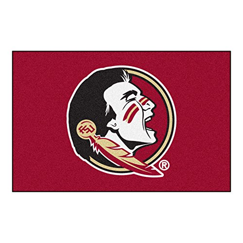 (FANMATS NCAA Florida State University Seminoles Nylon Face Starter Rug)