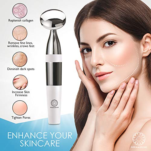 Face Massager Portable Facial Machine for Anti-Aging, Skin Tightening, Fine  Lines, Wrinkles, Collagen,