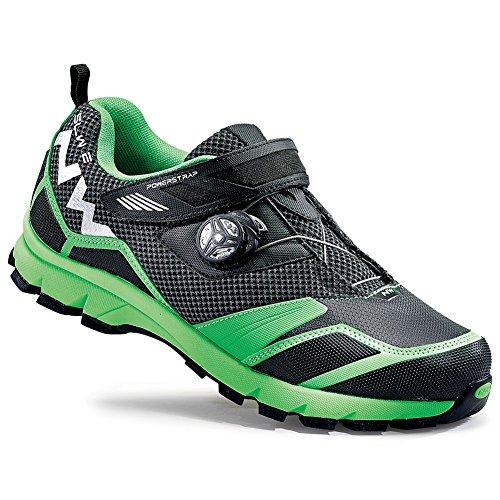 Chaussures Northwave MISSION PLUS VTT, noir-vert, fluor