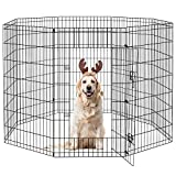 PEEKABOO Dog Pen Puppy Playpen Dog Fence Indoor