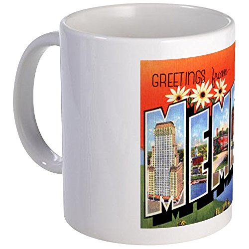 CafePress - Memphis Tennessee Greetings Mug - Unique Coffee Mug, Coffee Cup by CafePress (Image #1)'