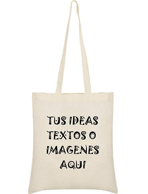 YISAMA Bolsas de Algodón con Asas para Personalizar Impresión con ...