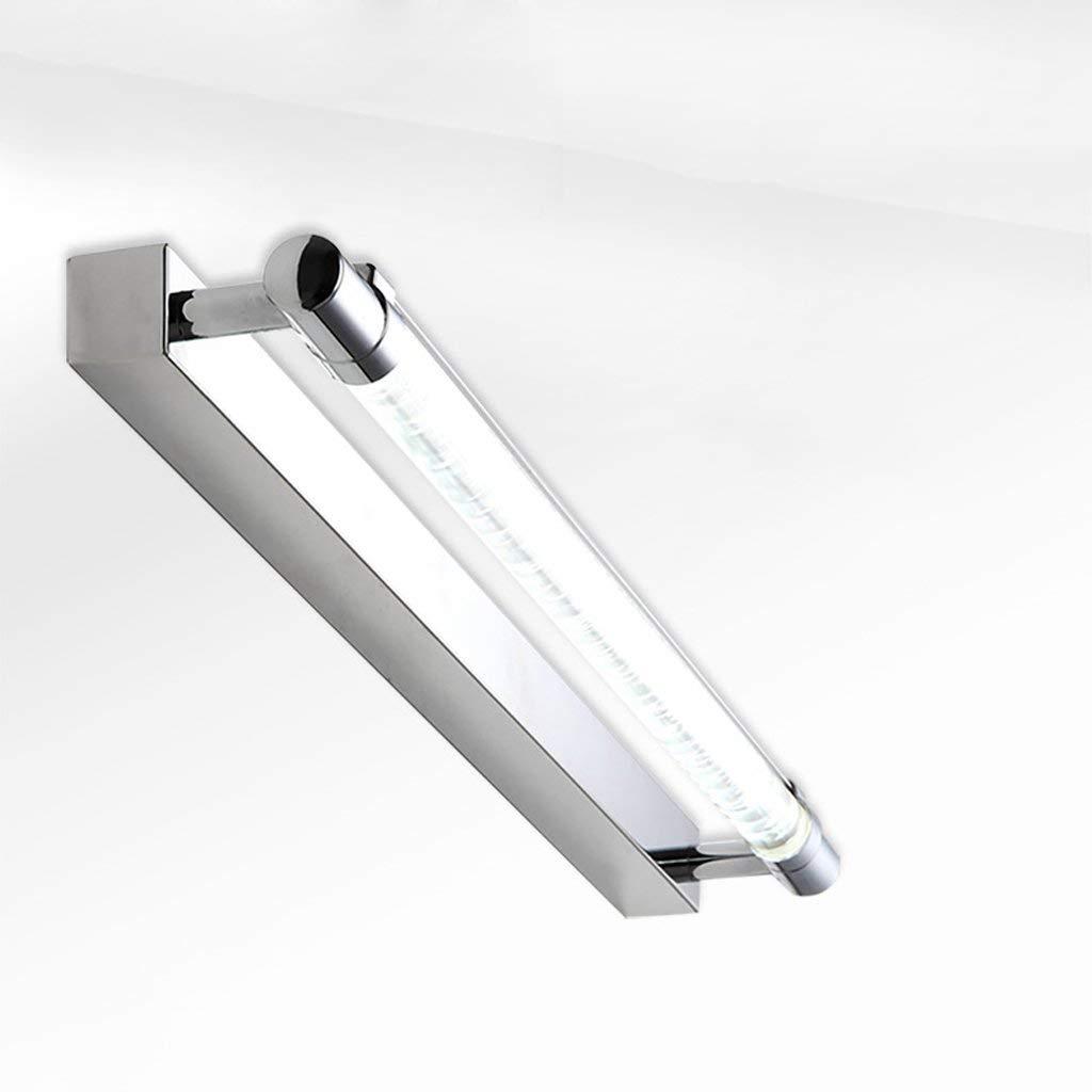 FXING Die erntezeit LED-Spiegel vorne Licht Moderne Moderne Moderne Edelstahl Badezimmer Spiegel Spiegel Schaltschrankleuchten Wand Leuchte Make-up-Spiegel (Größe  60 cm) 778bd8