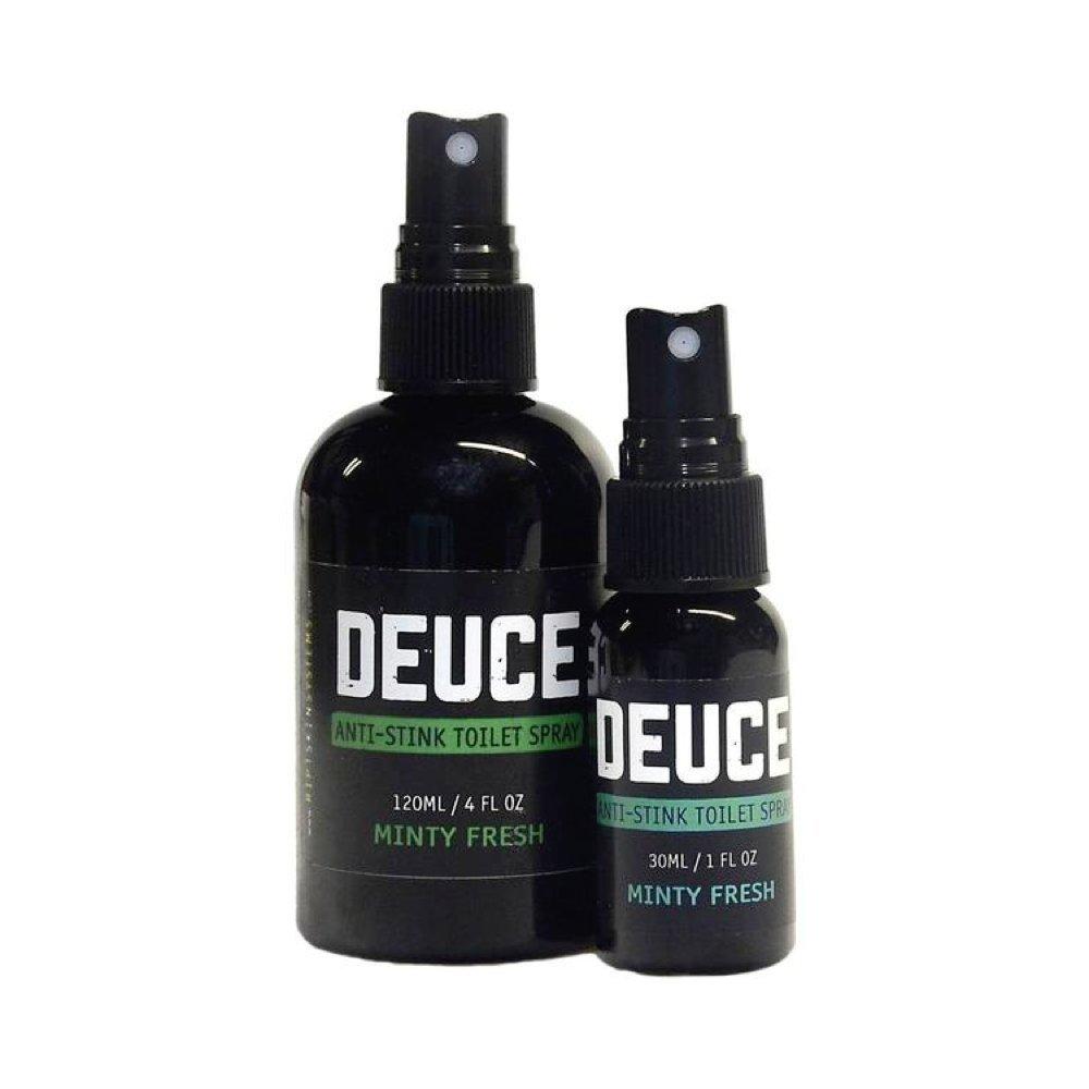 Deuce - The Anti-Stink Toilet Spray 120 mL - Before You Go Bathroom Spray - Toilet Spray - Amazing Minty Fresh Scent … RIPT Skin Systems DS120-M