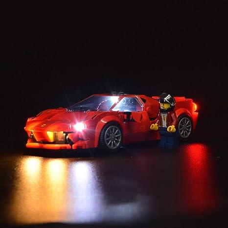 Sirod Kyglaring Led Beleuchtungsset Für Lego 76895 Speed Champions Ferrari F8 Tributo Beleuchtungssteine Bausteine Für Lego 76895 Ferrari F8 Kit Modell 76895 Nicht Im Lieferumfang Enthalten Amazon De Küche Haushalt