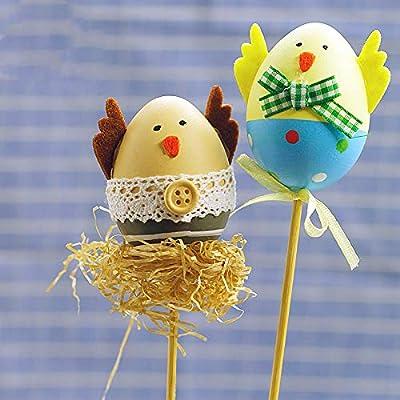 Morbuy Pascua Decoration, Huevos de Pascua Ninos Mini Juguetes ...