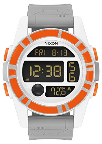 Nixon Unisex The Unit - The Star Wars Collection Bb-8 Orange/Black Watch