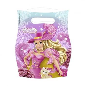 Set de bolsas para chuches o juguetes Barbie y las 3 ...