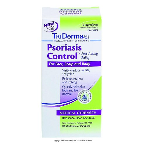 TriDERMA® psoriasis ControlTM-Emballage: 2,2 oz Tube - UOM = Chaque 1