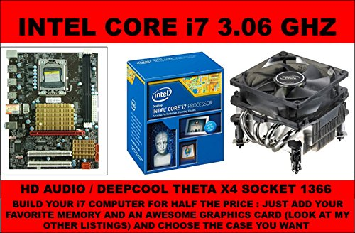 L@@K L@@K BUNDLE INTEL i7 lga 1366 MOTHERBOARD CPU COMBO INTEL X58 + INTEL Core i7 (QUAD CORE x 3.06GHz) (Cpu I7 Motherboard)