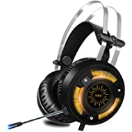 [Sponsored]ALWUP Stereo Gaming Headset for PS4, Xbox One Headset, Lightweight Noise Cancelling...