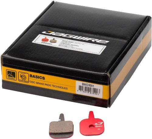 Jagwire Mountain Sport Disc PadsTektro IO Box/25 Pair by Jagwire
