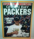 GREEN BAY PACKERS LOMBARDI COMES HOME SUPER BOWL XLV CHAMPIONS RODGERS MVP!