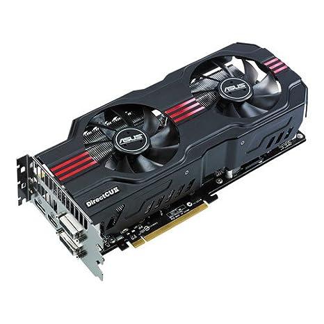 Asus GeForce ENGTX570 DCII/2DIS/1280MD5 - Tarjeta gráfica NVIDIA (PCI-e, Memoria de 1280 MB GDDR5, 2 DVI-I, displayPort, HDMI)