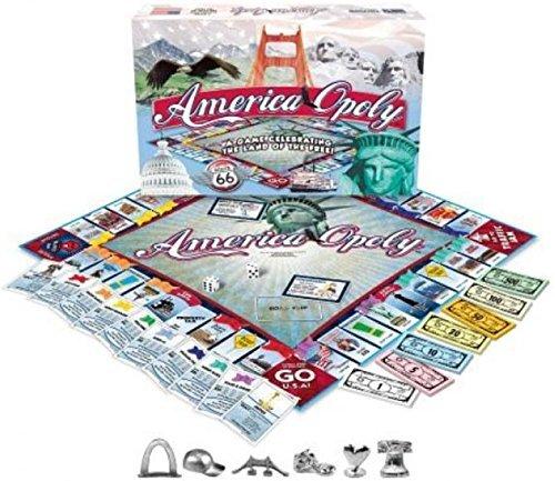 America-opoly Board Game