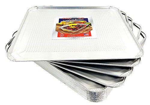 Pactogo Aluminum Foil Oven Liner Sheet Pan 20/Pk - 18