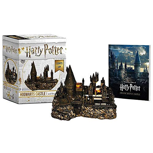 (Deluxe Mega Kit Hogwarts Castle and Sticker Book Harry Potter Miniature)