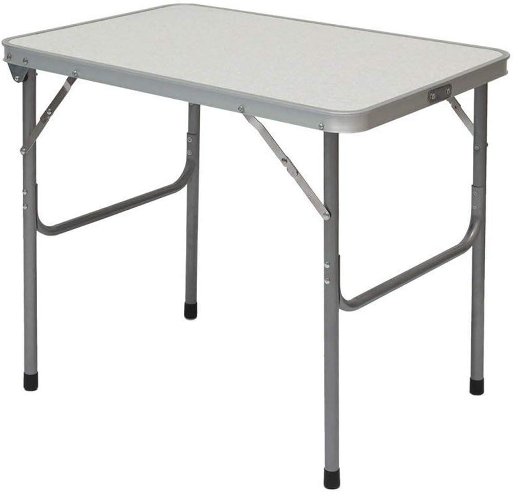Mesa para Acampada   Plegable Portátil   Estructura de Acero   Ideal para picnics Camping Playa jardín etc   Aprox. 70x50x60 cm