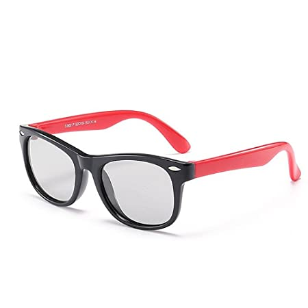 cf4f14cb53 Peggy Gu Rivet Decoration Kids Sunglasses Soft And Comfortable UV Protection  Polarized Lenses For Girls And