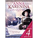 Tolstoy's Anna Karenina Includes 4 Bonus Moives