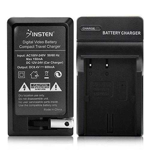 Insten BP-508 / BP-511 / BP-512 / BP-522 / BP-535 Compatible Battery Charger Set for Canon EOS 50D / 20D / 300D / 30D / 40D / 5D / D30 / D60 / Kiss Digital Bp 512 Compatible Battery