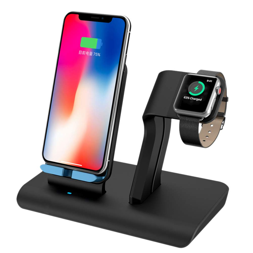 apple watch st nder wireless charger qi ladeger t. Black Bedroom Furniture Sets. Home Design Ideas
