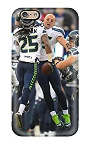 Hot Seattleeahawks First Grade Tpu Phone Case For Iphone 6 Case Cover