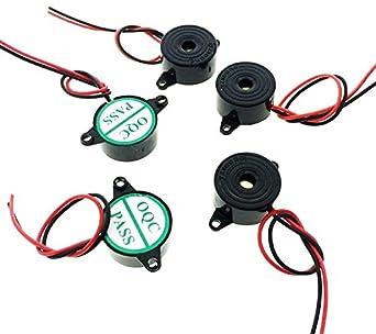 Amazon.com: Electronic alarma zumbador: Industrial & Scientific