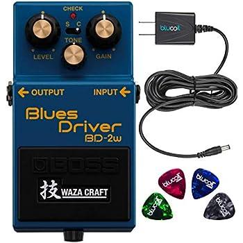 Amazon com: Boss BD-2W Blues Driver Waza Craft Special Edition