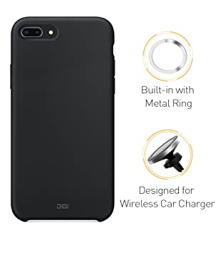 ZoeTec® - Carcasa magnética para iPhone X, Gel de Silicona ...