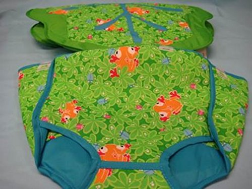 Replacement Seat Pad & Cushion for Evenflo ExerSaucer Triple Fun Entertainer Life In The Amazon - Jungle (6232883 & 6231883)
