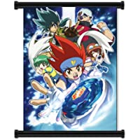 """Beyblade Metal Fusion Anime Fabric Wall Scroll Poster (16""""x21"""") Inches"""