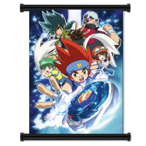 Beyblade Metal Fusion Anime Fabric Wall Scroll Poster  Inche