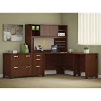 Envoy Corner Desk with Hutch and Storage