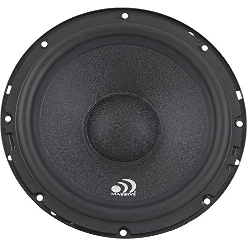 Massive Audio M6R - 6.5 Inch Single Driver, 150 Watts RMS / 300 watts MAX, 4 Ohm (Replacement Speaker for MK6 Component Set) (150w Component Speaker)