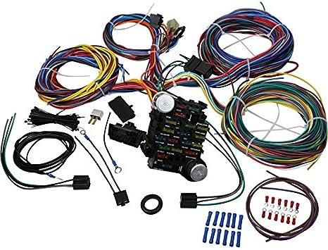 custom wiring harness kits amazon com aip electronics premium 21 circuit wiring harness kit  21 circuit wiring harness kit