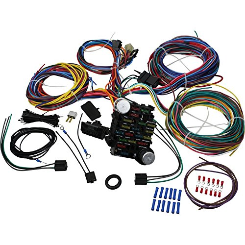 Brand New 21 Circuit Wiring Harness Kit for ALL Hot Rods Classics 4x4 Custom Project Oem Fit WH1001