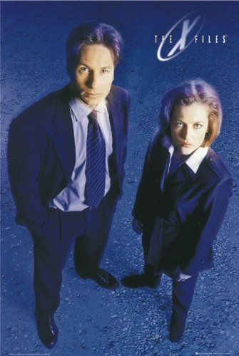 the-x-files-poster-mulder-and-scully-hot-new-24x36