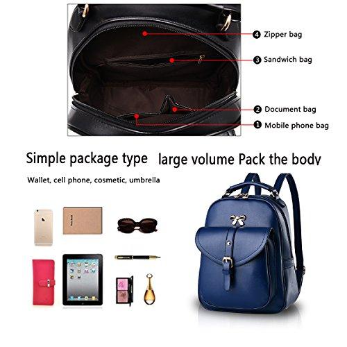 blue Fashion Handbag Shoulder Business Women's Messenger Handbag Women's Wallets Handbag Women's Dark Tisdaini Woolen Bag fqXFU6Up