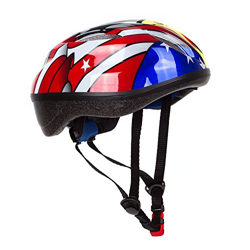 Dostar Kids Bike Helmet – Adjustable from Toddler to Youth Size, Ages 5-14 - Cycling Scooter Multi-sport Durable Kid Bicycle Helmets Boys and Girls will LOVE- CSPC Certified for Safety and Comfort - Quick Adjust Weight System