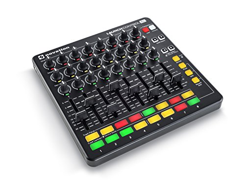 Novation Launch XL Ableton Live Controller, Black, (AMS BLK)