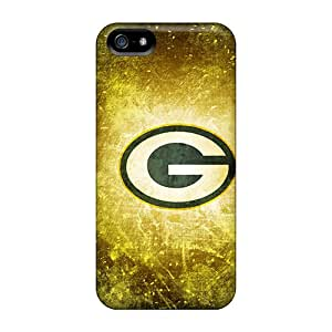Slim Fit Tpu Protector Shock Absorbent Bumper Green Bay Packers Case For Iphone 5/5s