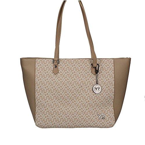 Borsa Donna Shopping | Y-Not Grande | Y006A17A-beige
